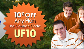 10% off any plan.  Use Coupon Code: UF10